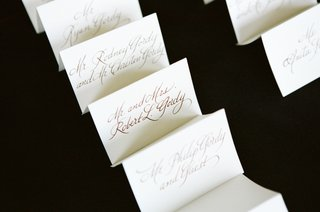 ivory-v-shaped-cards-written-in-calligraphy