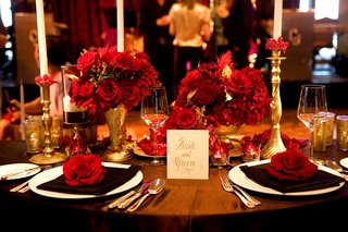 brown-linens-topped-with-gold-candlesticks-and-vases