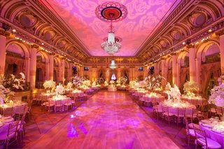 wedding-reception-with-pink-lighting-at-the-grand-ballroom-of-the-plaza