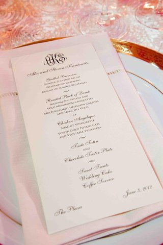 wedding-reception-menu-with-bride-and-grooms-monogram
