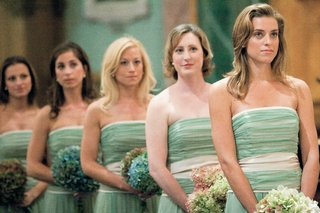 bridesmaids-in-celadon-gowns-at-ceremony