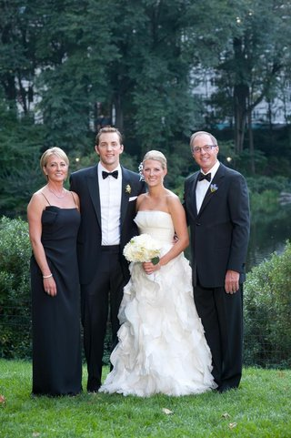 bride-with-groom-mom-and-step-dad-at-new-york-wedding