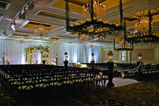 rustic-wedding-ceremony-chairs-and-light-fixtures