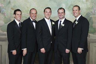 best-man-in-bow-tie-and-men-in-black-ties