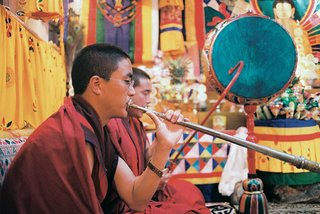 townspeople-from-bhutan-performing-with-musical-instruments