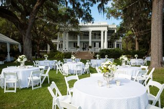 outdoor-dinner-tables-in-addition-to-tented-reception