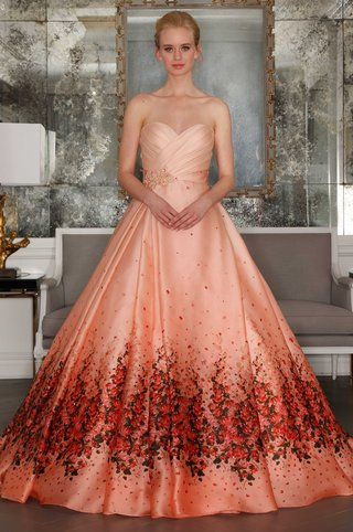 romona-keveza-collection-bridal-spring-2017-orange-red-pink-wedding-dress-sweetheart-neckline