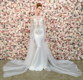 michael-costello-spring-summer-2018-bridal-couture-collection-illusion-bodice-deep-v-neck-dress