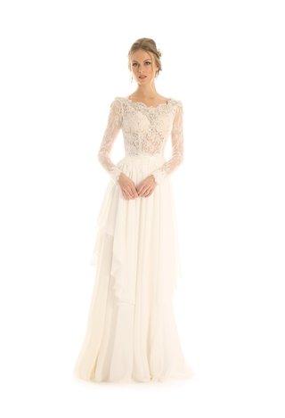 eugenia-couture-joy-collection-fall-2017-wedding-dress-maisy-long-sleeve-lace-bodice-chiffon-skirt