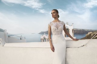 julie-vino-fall-2016-column-wedding-dress-with-high-neck-embroidered-bodice