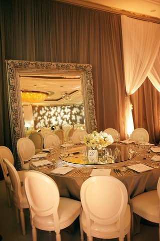 intricate-mirror-frame-and-tabletop-centerpiece
