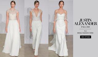 bridal-fashion-week-justin-alexander-fall-2018
