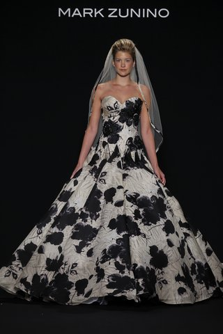 mark-zunino-for-kleinfeld-strapless-a-line-ball-gown-in-black-and-white-flower-print