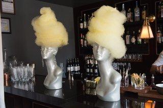 cotton-candy-mannequin-wigs-unique-dessert-new-york-city-bridal-shower-bar-top