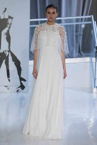 elvira-by-peter-langner-spring-2018-strapless-sheath-gown-crepe-tulle-bodice-cape-floral-embroidery