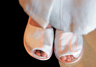 white-and-pink-getting-ready-slippers-with-i-do-embroidery