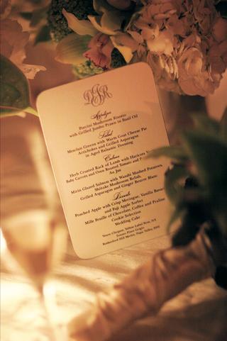 simple-monogrammed-wedding-reception-dinner-menu