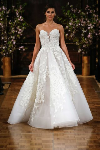isabelle-armstrong-spring-2017-charlie-strapless-wedding-dress-ball-gown-flower-embroidery-applique