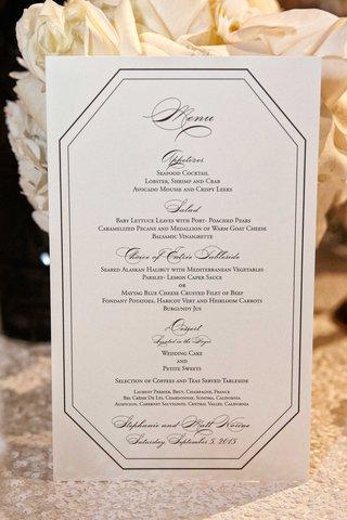 black-and-white-dinner-menu-wedding-reception-art-deco-vintage-details