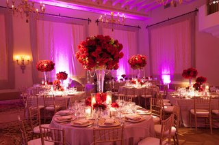 round-tables-with-red-floral-centerpieces
