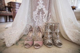 christian-louboutin-and-sophia-webster-shoes-with-haute-couture-dress-ghana-african-royal-wedding