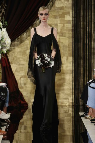 ophelia-black-wedding-dress-with-chantilly-lace-ruffle-by-theia