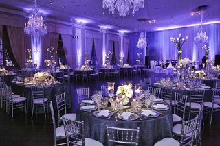 ballroom-wedding-with-purple-lighting-and-silver-details