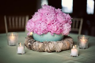 small-arrangement-of-peonies-in-blue-bowl