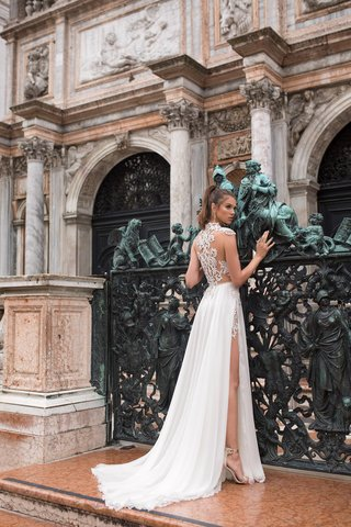 amaria-julie-vino-2018-embroidered-lace-top-lace-detail-on-back-applique-under-the-silk-skirt-slit