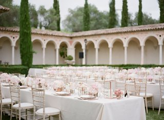 destination-wedding-at-private-chateau-in-the-south-of-france-outdoor-reception-on-lawn