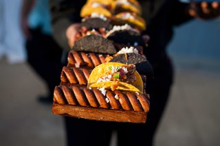 miniature-tacos-served-at-cocktail-hour-southern-wedding-ideas