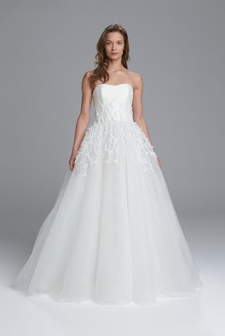 kenneth-pool-spring-2017-bridal-collection-monroe-wedding-dress-strapless-ball-gown-beaded-skirt