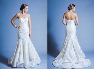 jinza-couture-bridal-2016-elongating-strapless-wedding-dress-with-button-down-back-and-mermaid-cut