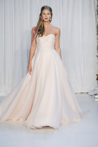 anne-barge-fall-2018-sweetheart-draped-bodice-of-gazar-with-full-circle-skirt-in-blush