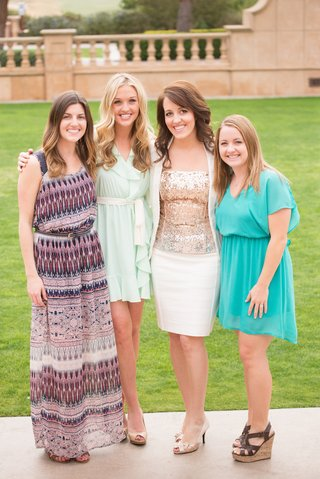 bride-to-be-in-white-suit-gold-sequined-blouse-amp-guests-bridal-shower-at-the-grand-del-mar