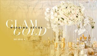 gold-wedding-decorations-at-ceremony-and-reception