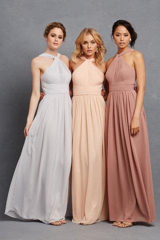 donna-morgan-serenity-collection-halter-bridesmaid-dresses