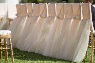 pink-wedding-ceremony-chair-covers-with-tulle-skirts