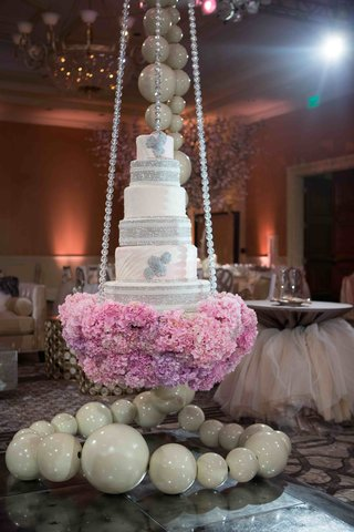 tamra-barney-swinging-wedding-cake-with-crystals