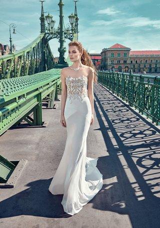 gala-by-galia-lahav-2016-wedding-dress-with-embellished-bodice-and-illusion-cap-sleeves