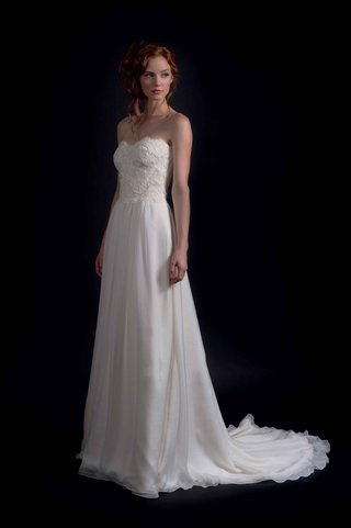 modern-trousseau-fall-2016-strapless-sheath-wedding-dress