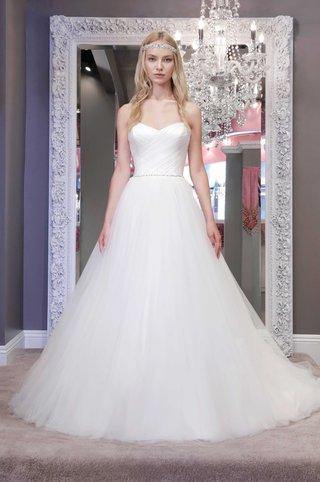 winnie-chlomin-2016-strapless-a-line-wedding-dress-with-asymmetrical-ruching-on-bodice