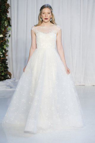 bateau-cap-sleeves-ball-gown-glittering-floral-tulle-beaded-lace