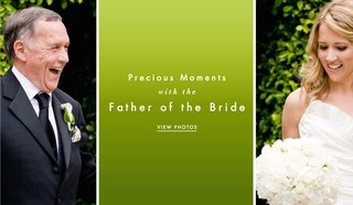 father-of-bride-touching-photos-of-ceremony-and-reception
