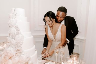 r-b-singer-durrell-tank-babbs-zena-foster-wedding-cutting-the-cake-v-neck-wedding-dress