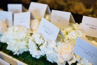 white-wedding-place-cards-on-white-hydrangeas-blush-roses