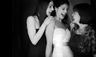 black-and-white-photo-of-genevieve-cortese-with-mother-of-bride