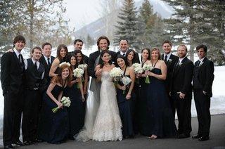 genevieve-cortese-and-jared-padalecki-with-bridesmaids-and-groomsmen