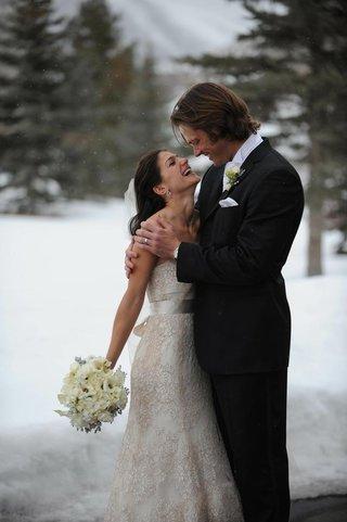jared-padalecki-and-genevieve-cortese-at-snow-wedding