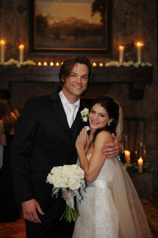 actor-and-actress-bride-and-groom-at-lodge-wedding